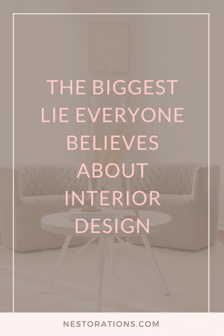 What do you think an interior designer does? Ask any designer and I'm sure they know someone who believes this common lie about interior design.