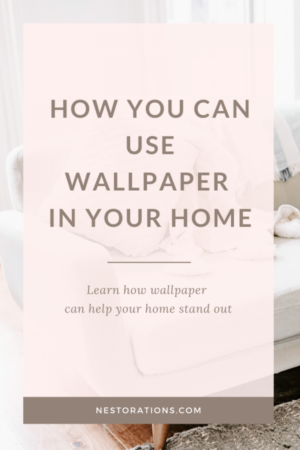 How can you use wallpaper in your home? Learn how you can use wallpaper in your home to make it stand out.
