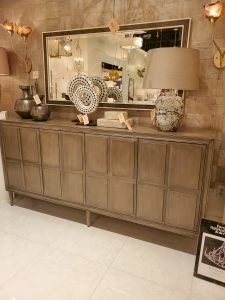 Currey and Company sideboard from Las Vegas Market