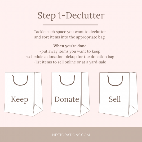 Interior Design Idea-Declutter Your Home for a Clean Slate