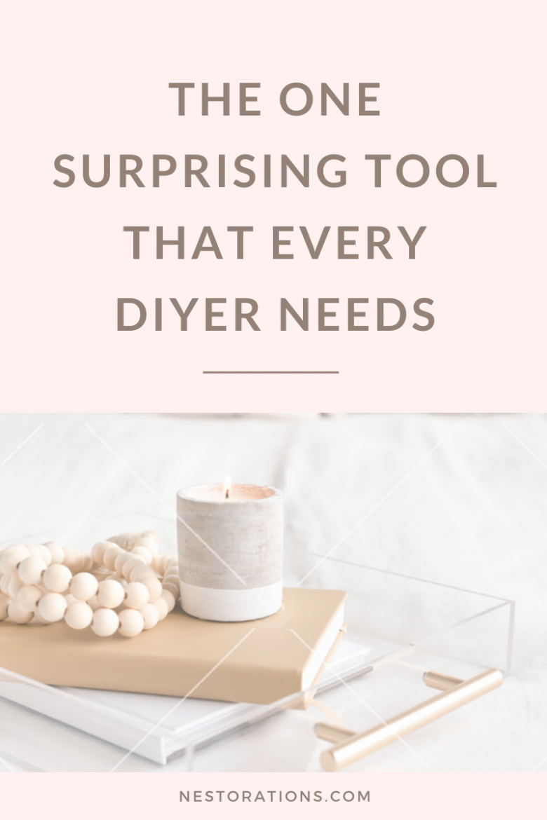 The One Surprising Tool You Need in Your DIY Home Decorating Toolkit