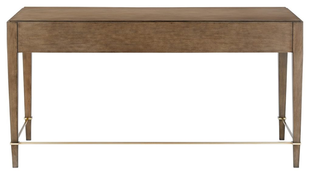 Home office desk from Currey and Company