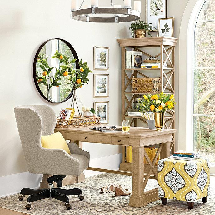 Ballard Designs Bourdonnais desk for your home office room design