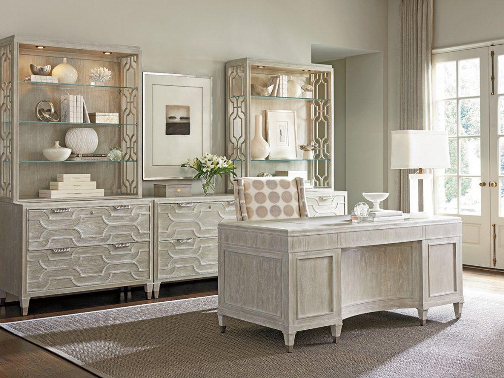 Room design-home office executive desk from Lexington Furniture