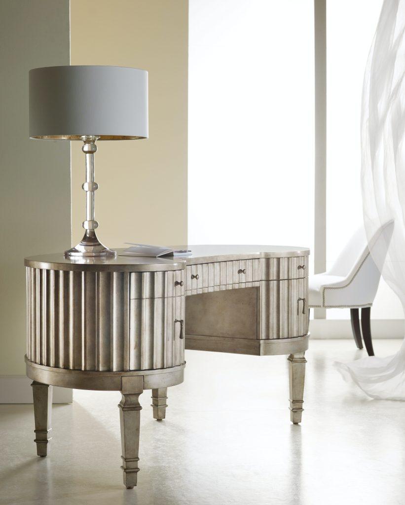 Hooker Furniture Melange Kidney Desk