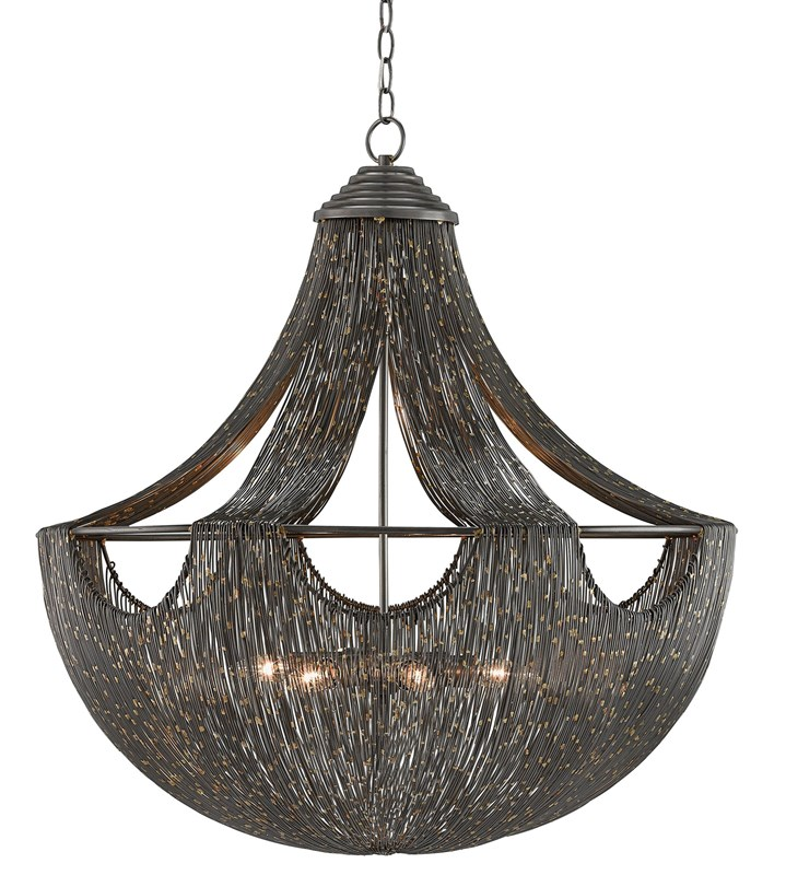 Currey & Company Eduardo chandelier for your dining room