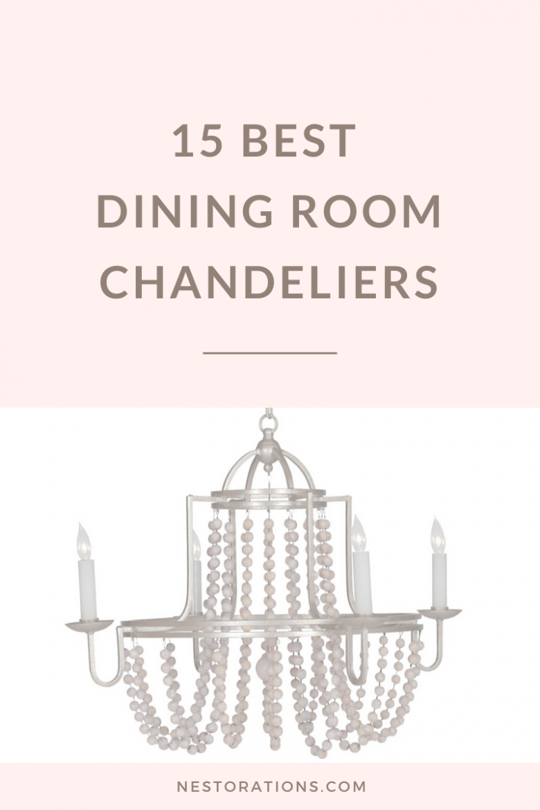 15 best dining room chandeliers to inspire you