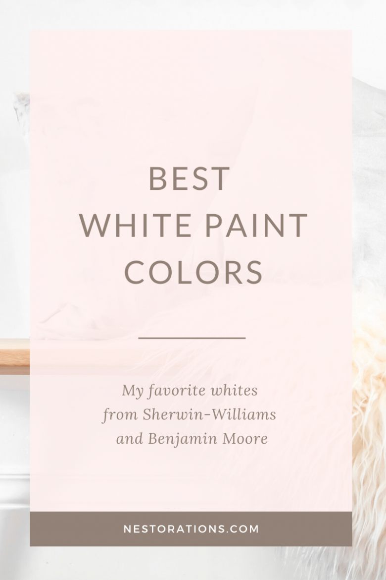 See the best white paint colors for your home.