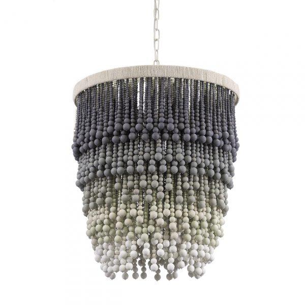 Palecek Solana pendant chandelier. Perfect for coastal style.