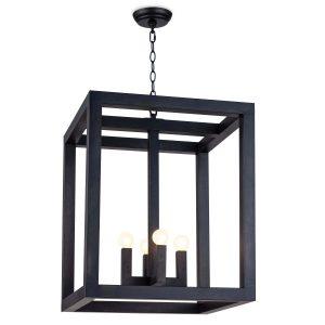 Industrial lantern style pendant