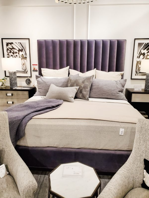 Bedroom Inspiration-upholstered headboard