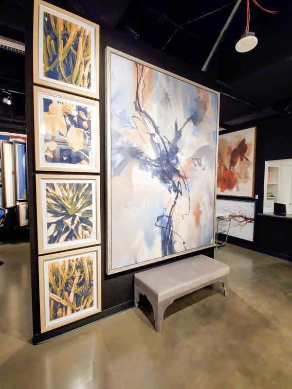 Bold, abstract art ideas