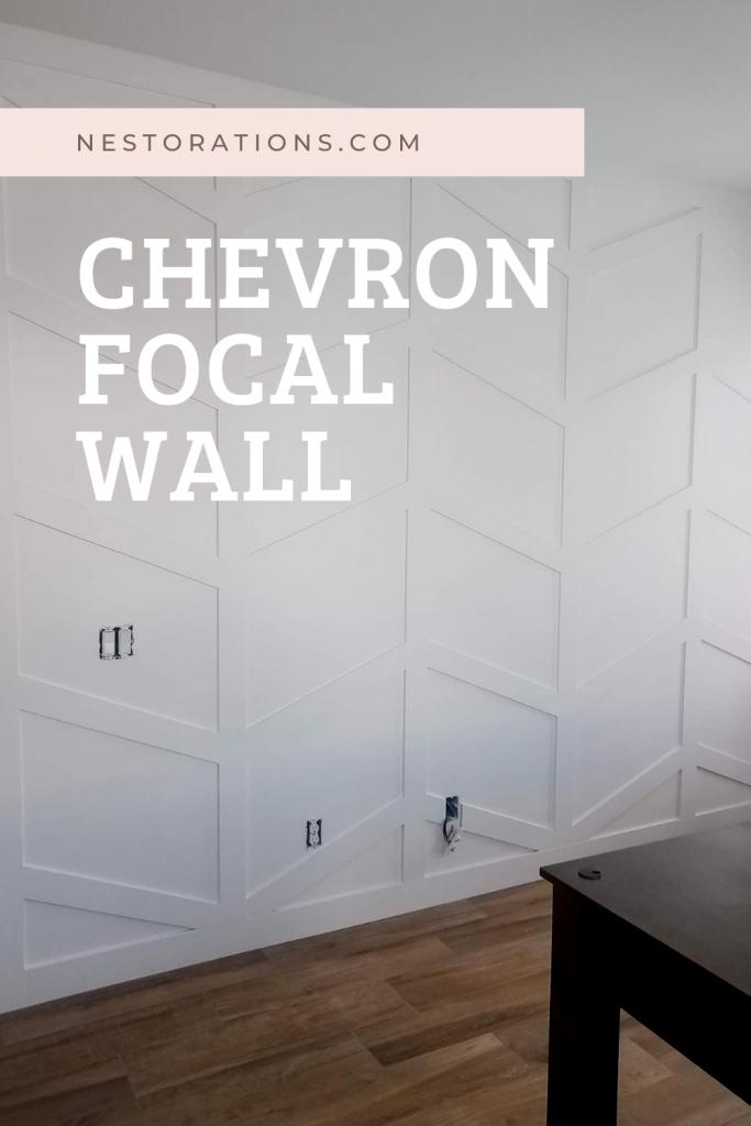 Chevron Focal Wall