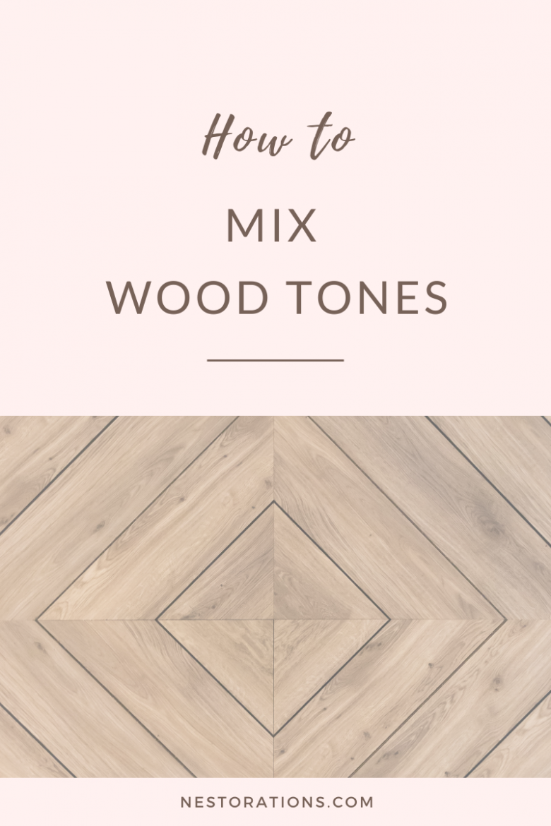 How to mix wood tones