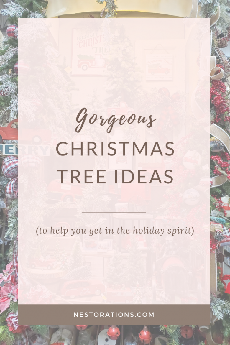 Christmas tree ideas and inspiration
