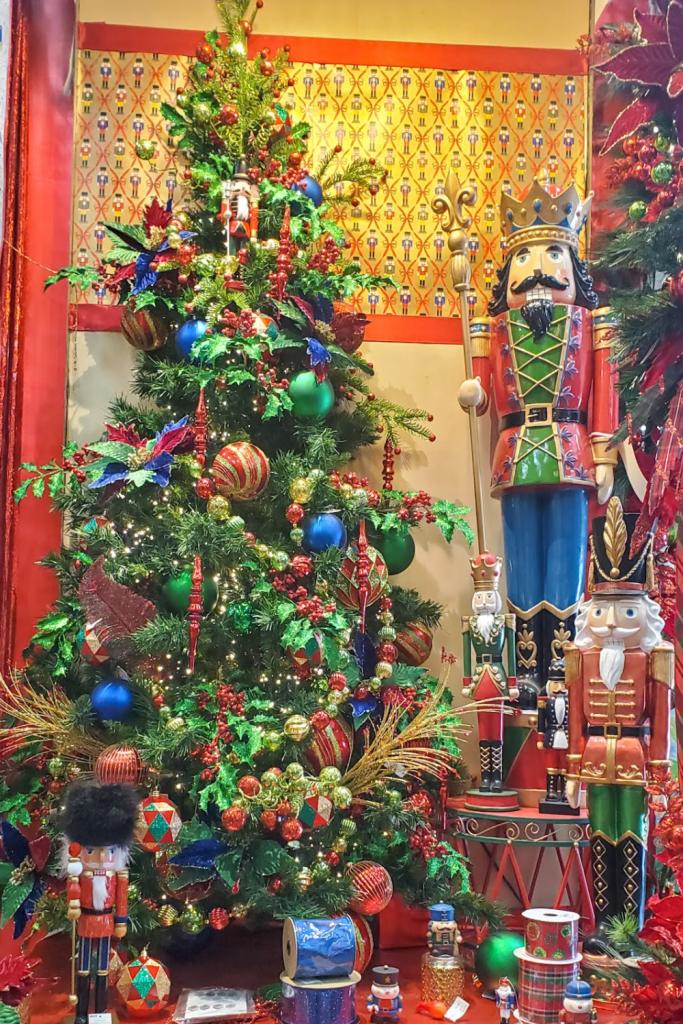 Nutcracker themed Christmas Tree