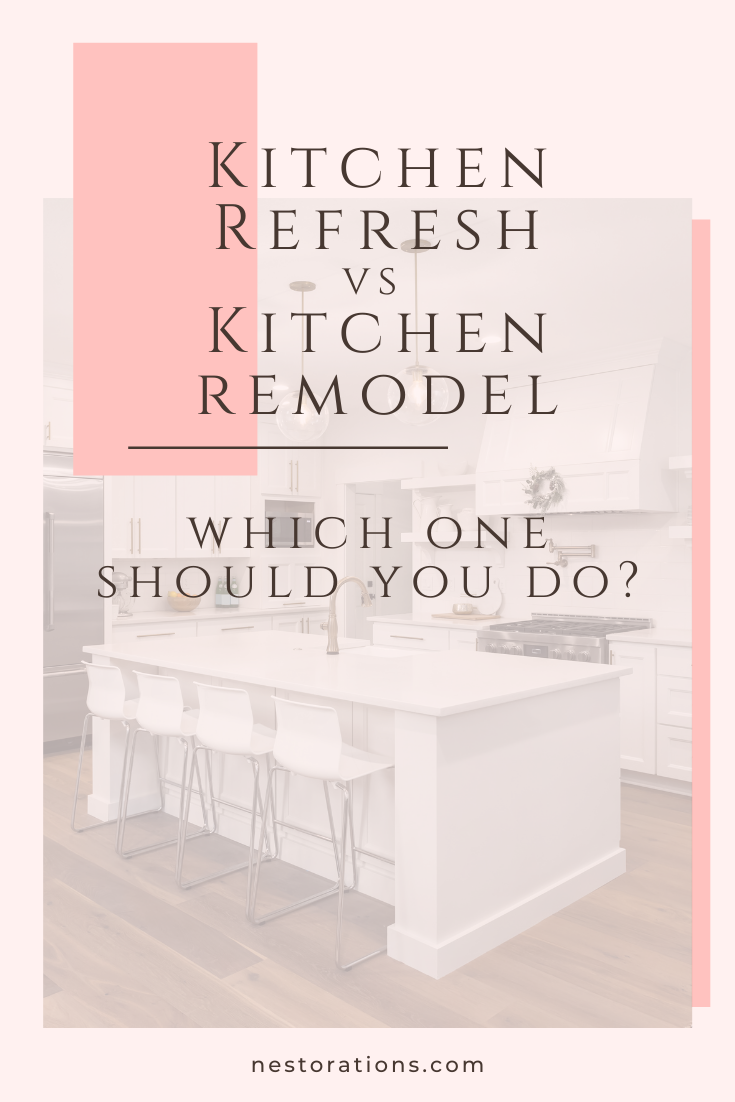 Should you do a kitchen refresh or a full kitchen renovation