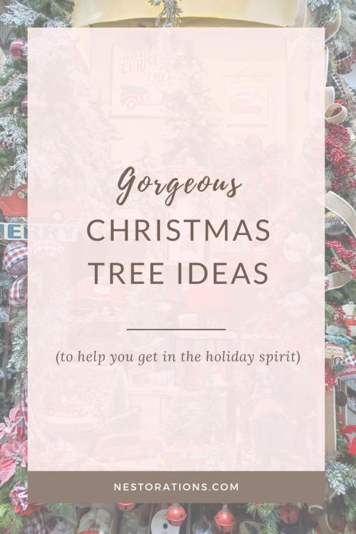 Christmas tree ideas and inspiration