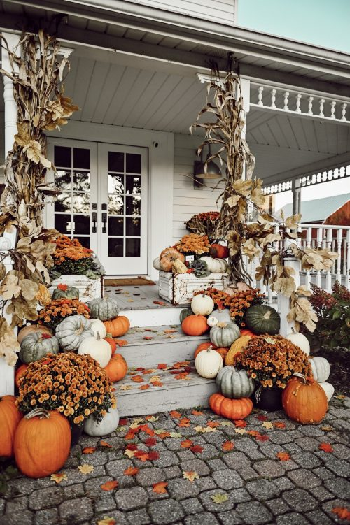 Fall decor from Lizmarieblog