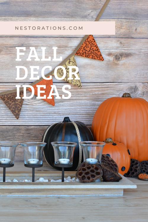 Fall decor ideas from Nestorations