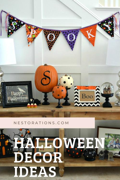 Easy Halloween Decor Ideas and Inspiration