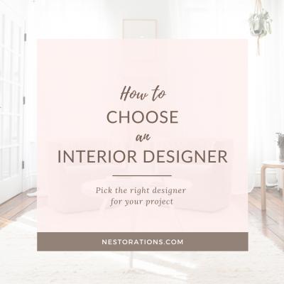 How to choose an interior designer