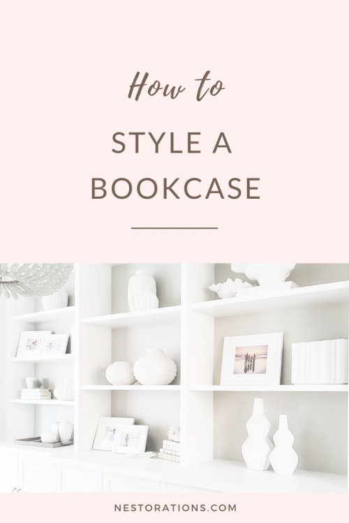 Learn tips to style your bookcase