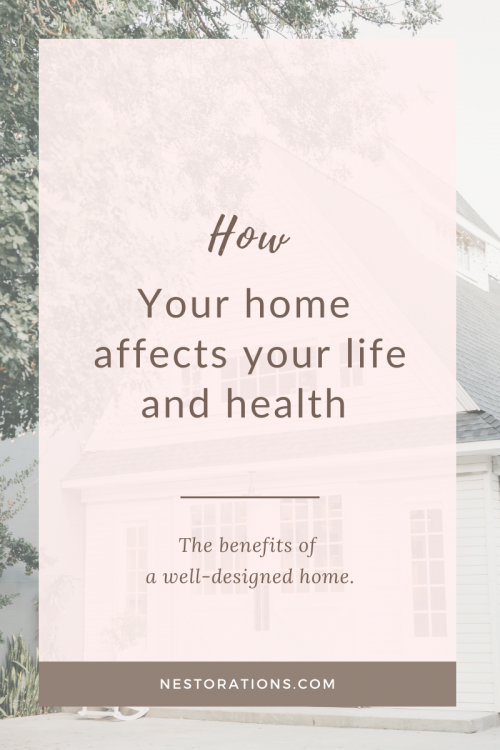 The health benefits of a well-designed home