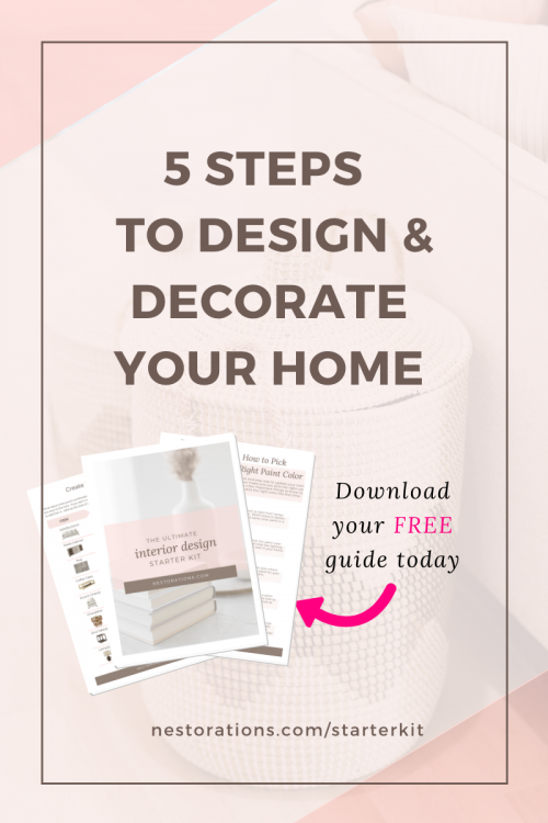 Home decorating & Interior design tips