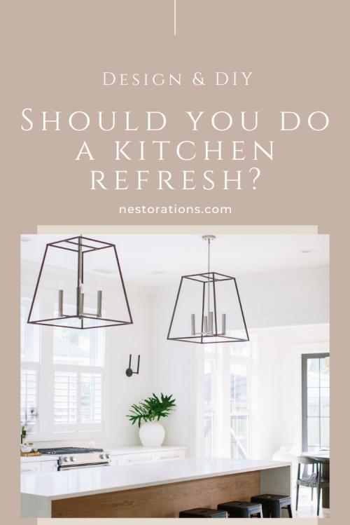 What's a kitchen refresh?