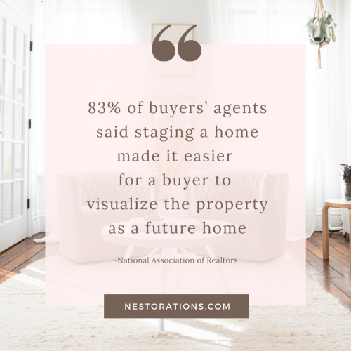 Why You Should Hire an Interior Designer to Help Sell Your Home-Nestorations
