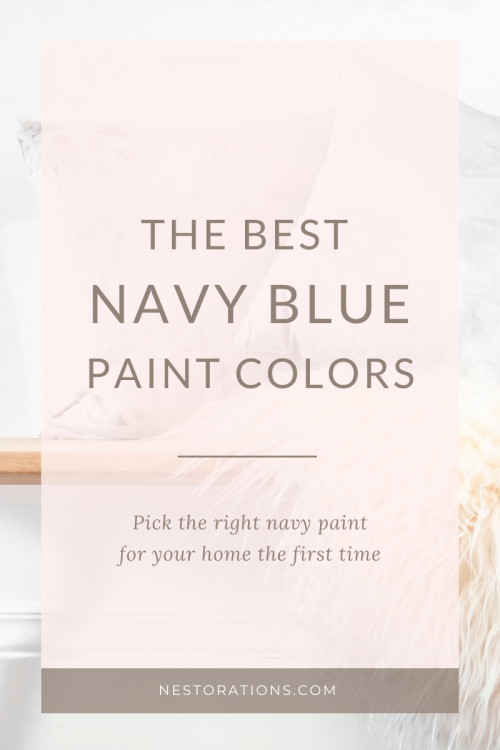 See the best 8 navy blue paints to use in your home