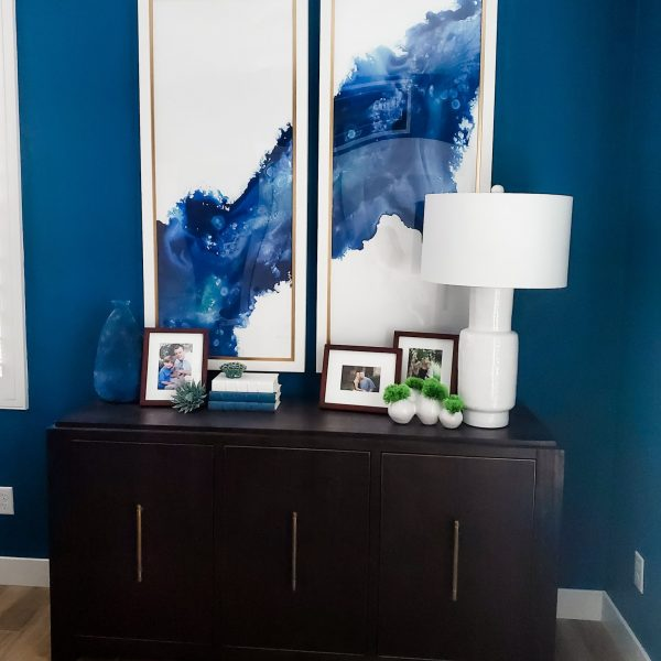 Bold office vignette-Design by Sally Soricelli, Nestorations