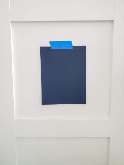 Paint-swatch-on-wall-DIY