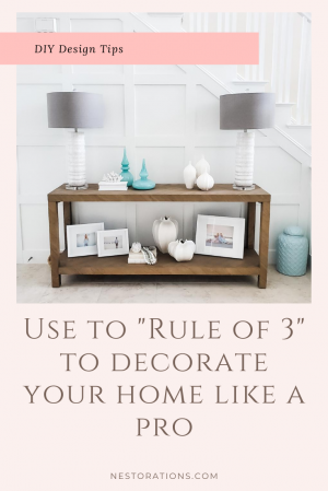 Rule of Three design tips