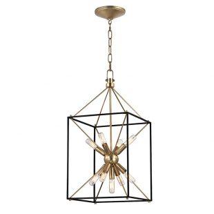 Modern twist on a lantern pendant
