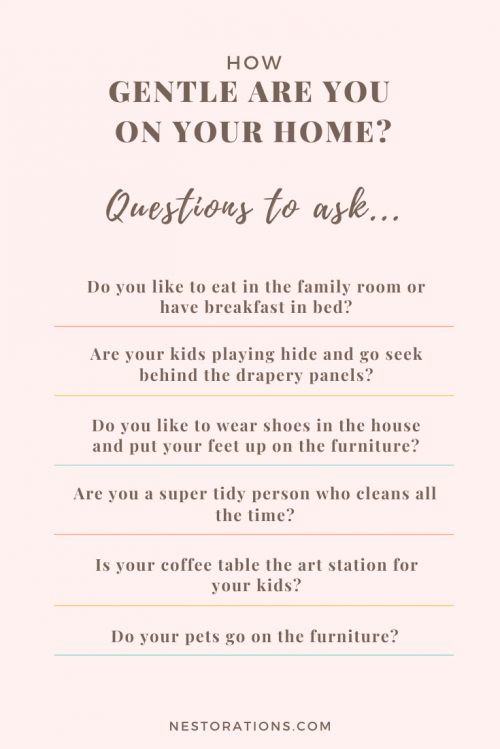 Questions to ask to help you plan your design