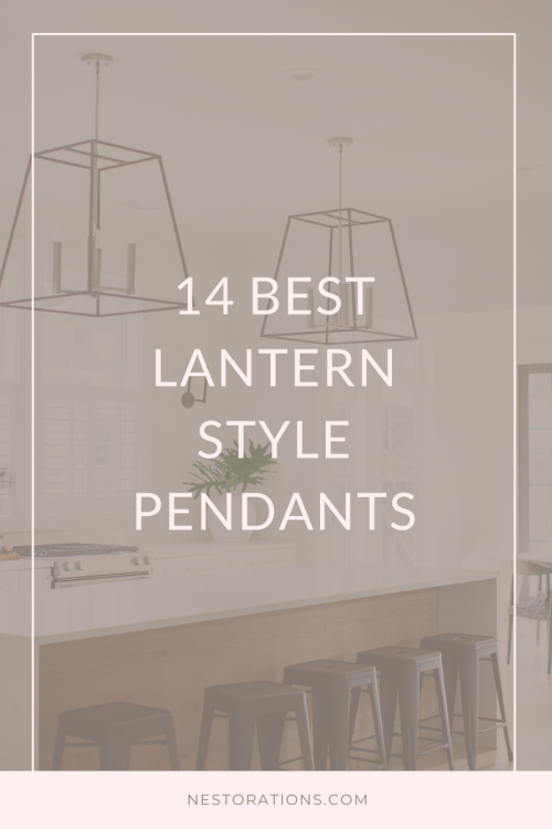 Best lantern style pendants for your kitchen and dining room