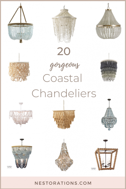 Best coastal chandeliers to give your home that beachy vibe.