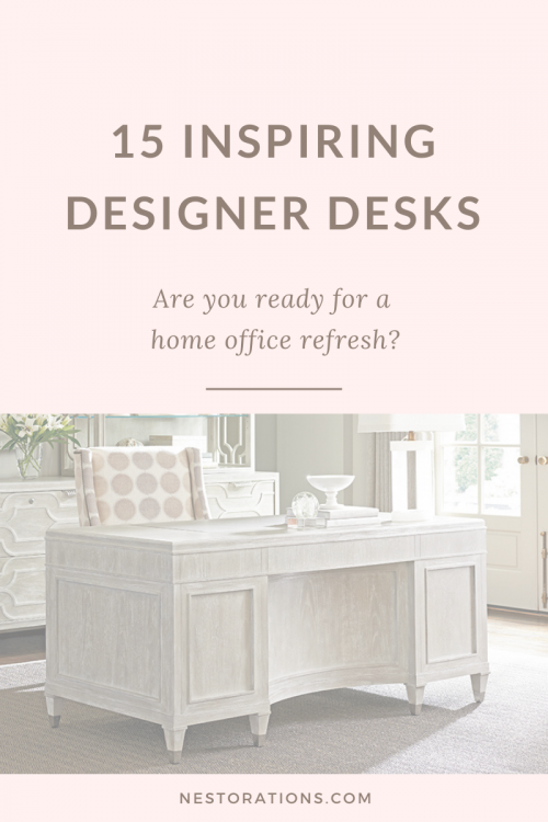 Room design ideas and desks for your home office